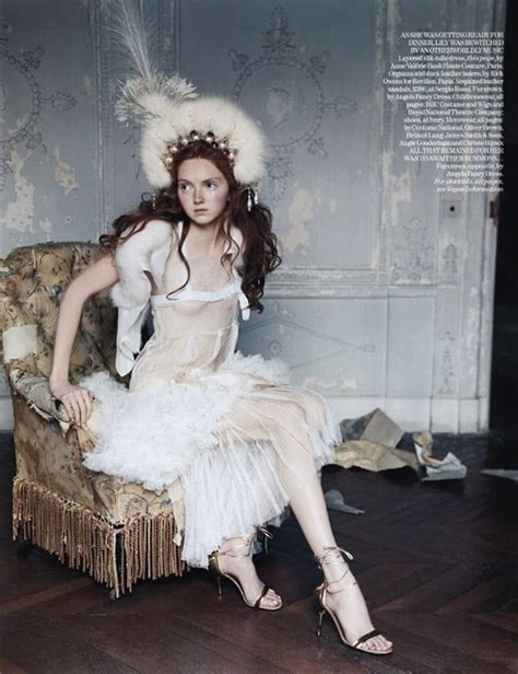 lily cole british vogue lily cole by arthur elgort for british vogue footoorooms