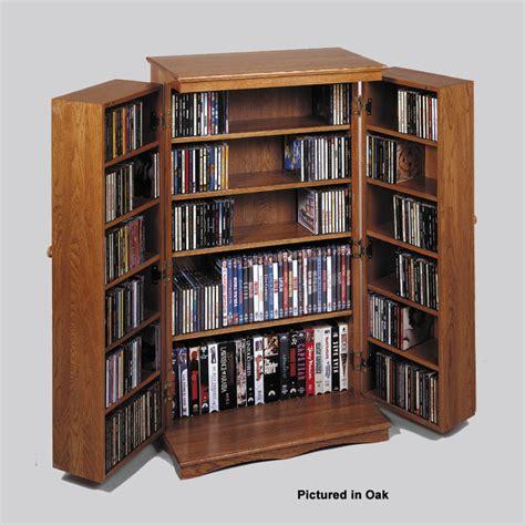 leslie dame mission style multimedia cabinet dark oak cd