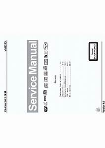Jensen Vm9213 Sm Service Manual Download  Schematics