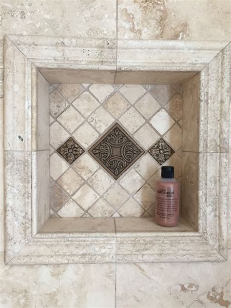 niche  hold shampoo outlined  travertine pencil