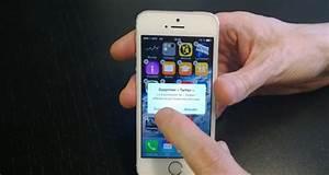 Comment Supprimer Une Application Iphone 7 : ios 7 sur iphone 5s comment supprimer une application ~ Medecine-chirurgie-esthetiques.com Avis de Voitures