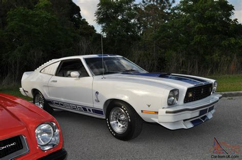 1978 Mustang Ii by 1978 Mustang Ii Cobra Ii White With Blue Lemans