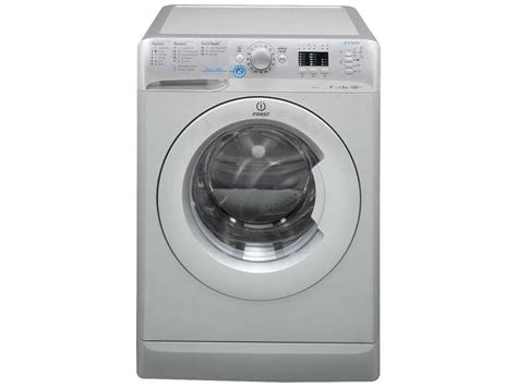 lave linge indesit 8kg indesit lave linge frontal 8kg innex xwa81252xsfr xwa 81252 xsfr silver