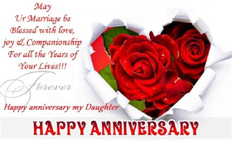 happy anniversary wishes  son  daughter
