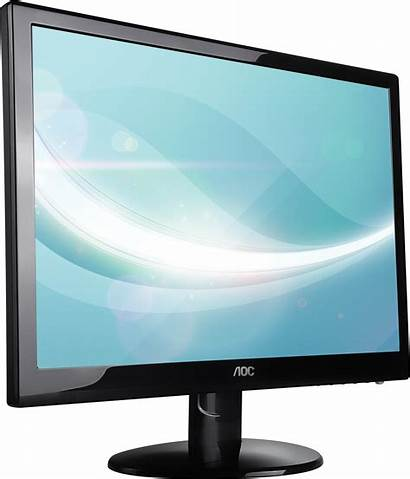 Monitor Computer Lcd Transparent Monitors Display Background