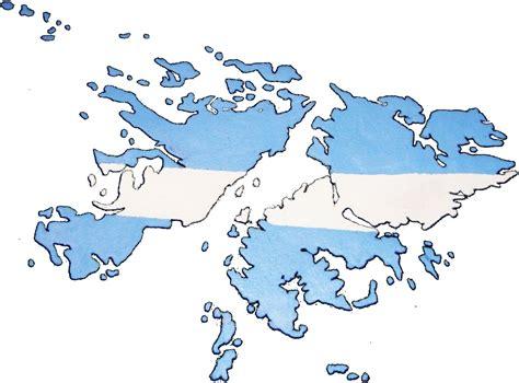 Las Malvinas son Argentinas: Mapa de las Islas Malvinas