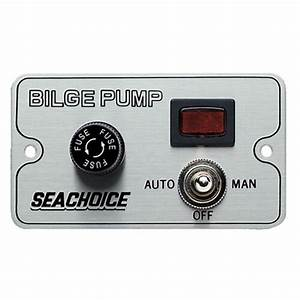Bilge Pump Control Switch For Boats