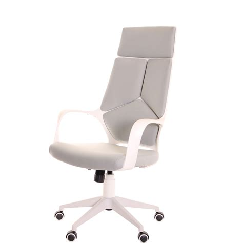 modern ergonomic desk chair modern ergonomic office chair grey white by timeoffice