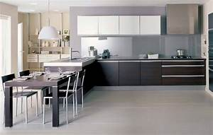 Avis Cuisine Cuisinella : cuisine cuisinella meuble cuisine integree meubles rangement ~ Nature-et-papiers.com Idées de Décoration