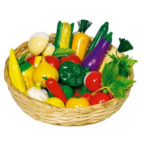 dinette cuisine jouet en bois fruits et légumes en bois pour marchande