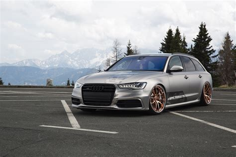 slammed audi wagon slammed wagons are always cool audi a6 on air suspension