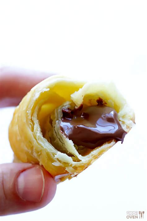 3 ingredient nutella croissants gimme some oven