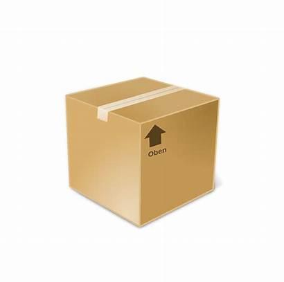 Closed Clipart Paket Symbol Cube Boxes Transparent