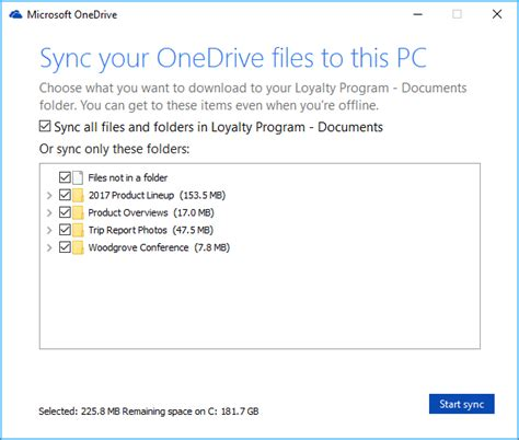 sinked meaning in sync sharepoint files with the new onedrive sync client