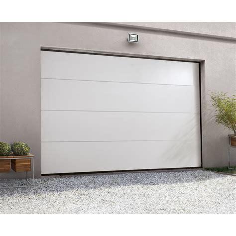 Porte De Garage Sectionnelle Artens H200 X L300 Cm
