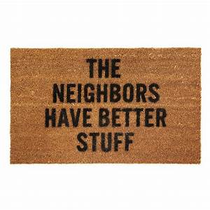 BETTER STUFF DOORMAT | coir, funny door mats, rugs ...