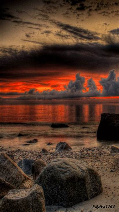Sunset Screensavers Mobile Effects