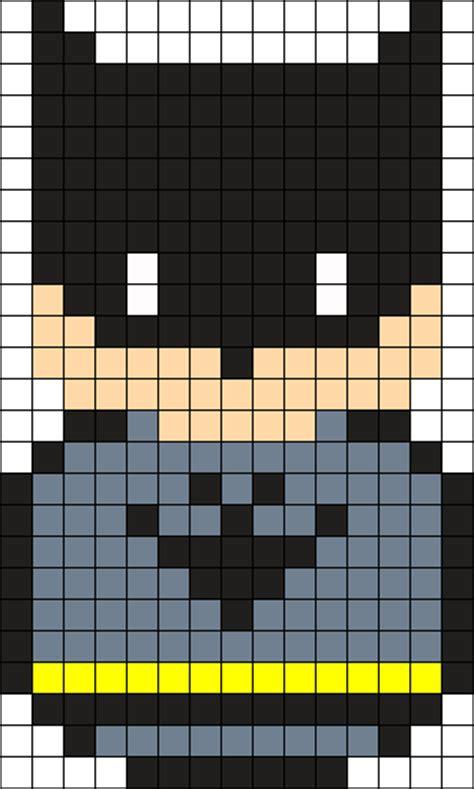 batman perler bead pattern bead sprites characters