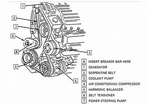 1995 Chevy 1500 Belt Engine Diagram  Parts  Auto Wiring Diagram