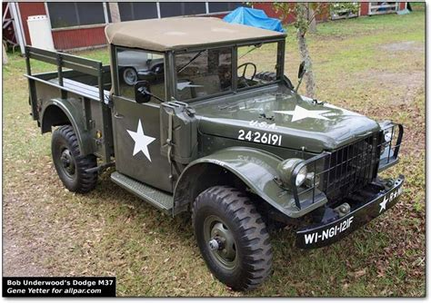 old military jeep truck dodge m37 military truck m37 power wagon kaiser etc