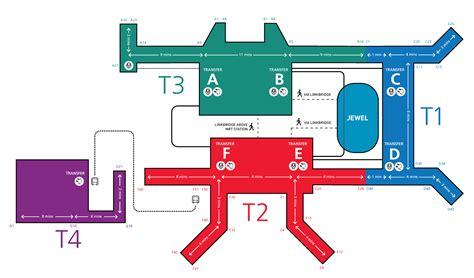 maps changi airport singapore