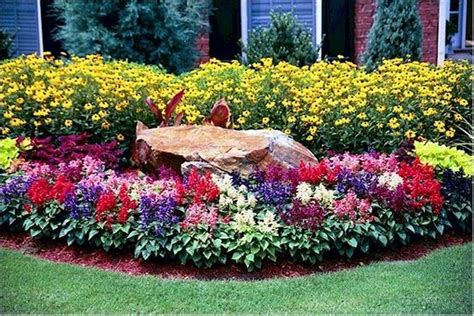 flower bed designs for front of house flower bed ideas in front of a house