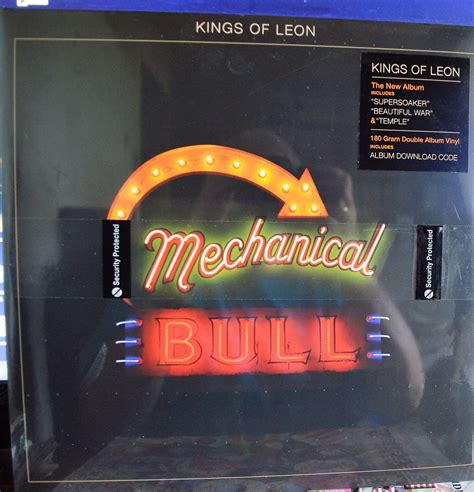 Kings Of Leon Mechanical Bull Records, Lps, Vinyl And Cds