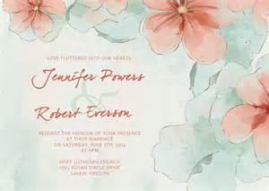 cheap wedding invitation kits watercolor wedding invitations