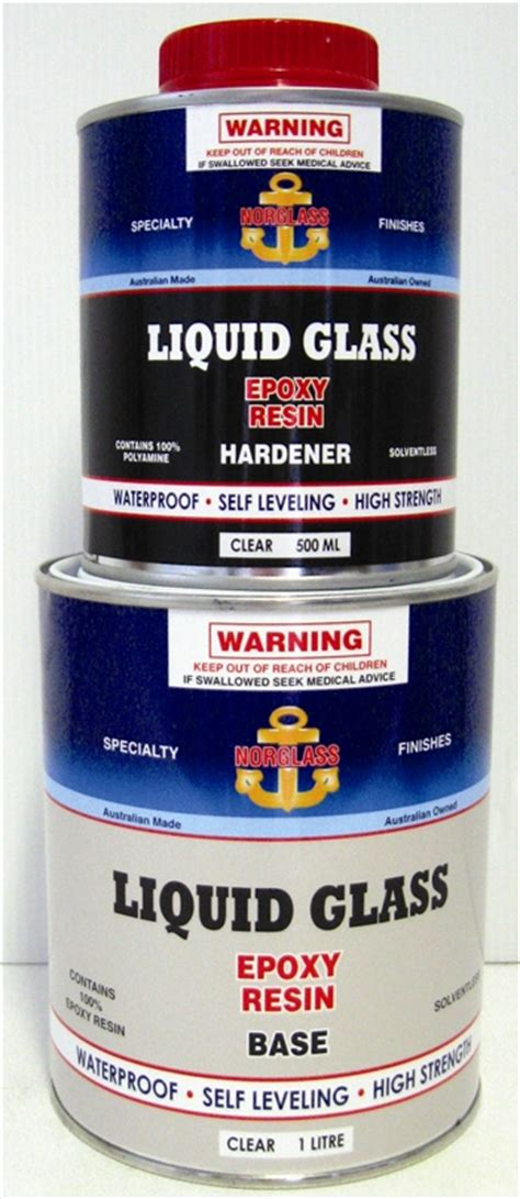 liquid glass for table top norglass liquid glass epoxy resin fibreglass fillers