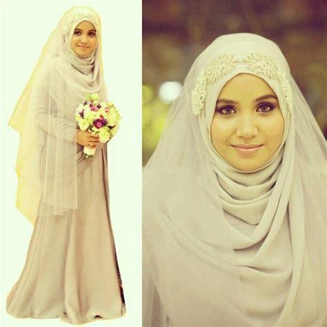 cantik berhijab syari dress kebaya pernikahan syari