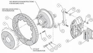 Wilwood Disc Brake Kit Fits 03