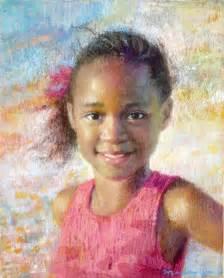 Child Pastel Portrait Painting