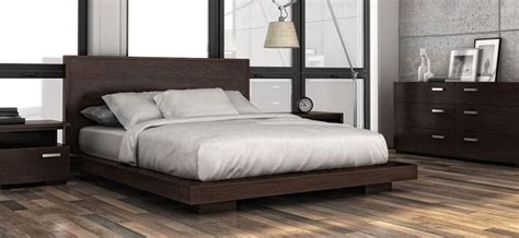 Contemporary Bedroom Furniture by Bedroom Furniture Chic Contemporary Condo Sized