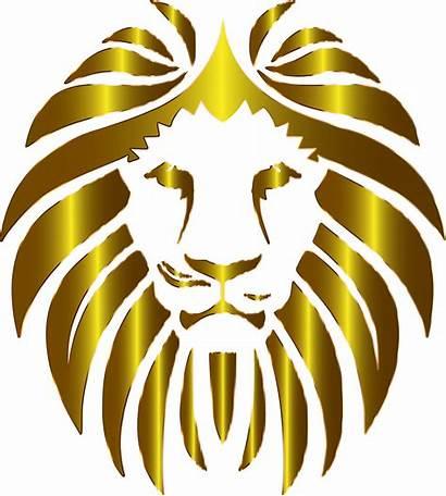 Lion Background Clipart Clip Money Transparent Prismatic