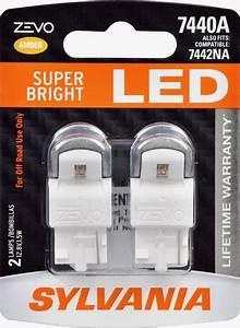 Zevo Led Light Mini Bulb Sylvania 7440 High Performance Amber Zevo Led Mini Bulb