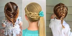 Coiffure Facile Pour Petite Fille : coiffure tresse facile petite fille ~ Nature-et-papiers.com Idées de Décoration