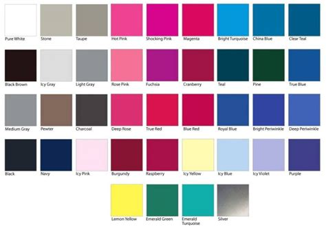 types of colors what are winter colors