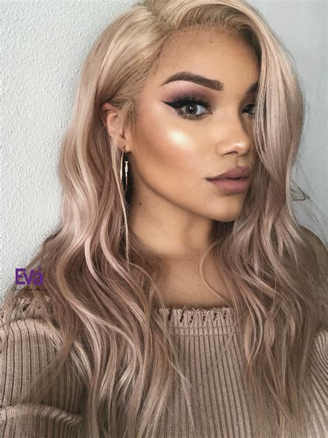 Blond Hair by Custom Color Ash Lace Human Hair Wig Human