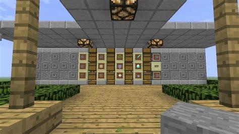 minecraft storage room tutorial youtube