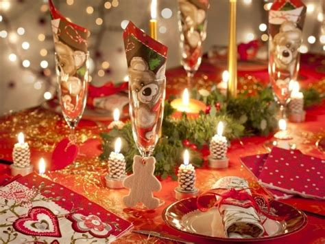la decoration de table de noel  idees  vous allez