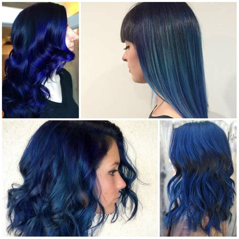 Coloring Hair Blue by Win Your Hairs Adorning Stares By Coloring Them Blue