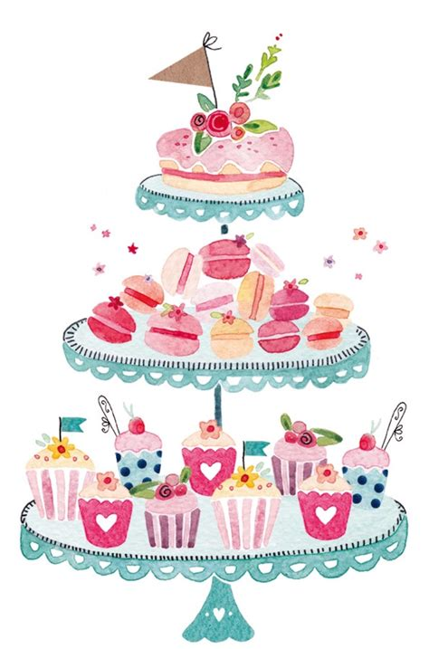 cake stand clipart  clipart station