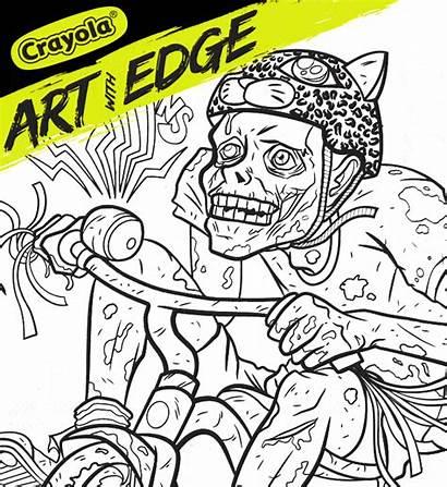 Crayola Zombie Daze Splash Edge