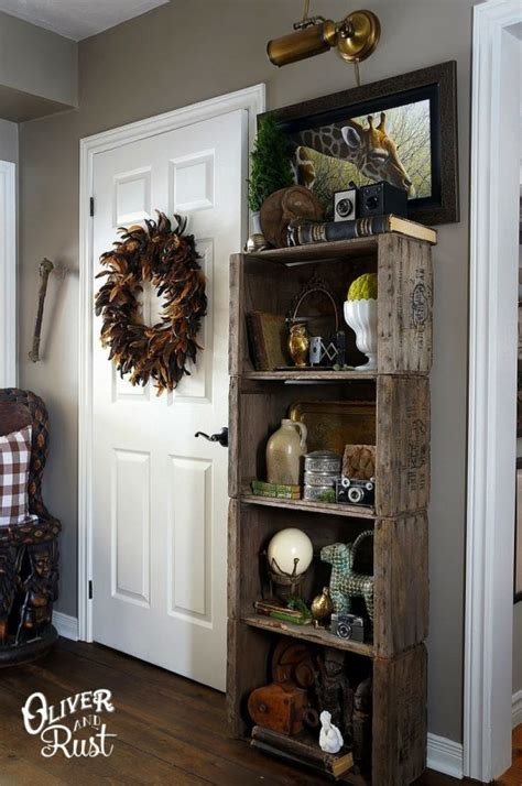 Decorating Ideas With Crates by Creative Ideas On How To Re Purpose Wooden Crates