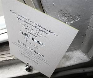 letterpress wedding invitations bradford design bella With wedding invitation cards bradford