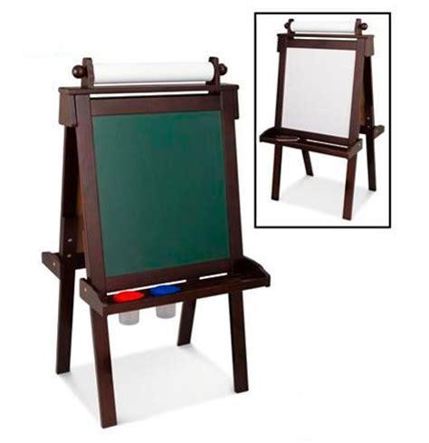 kidkraft easel desk espresso kidkraft deluxe wooden easel espresso