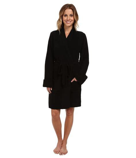 sweater robe lyst betsey johnson cozy big sweater robe in black