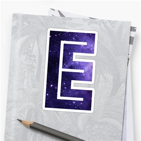 letter  space sticker  alphamike redbubble