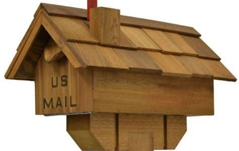 build  mailbox wooden brick   mailbox design plans