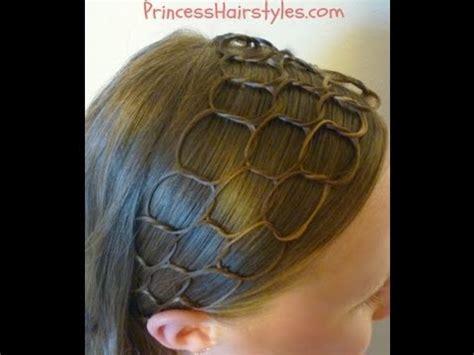 honeycomb headband hairstyle tutorial youtube